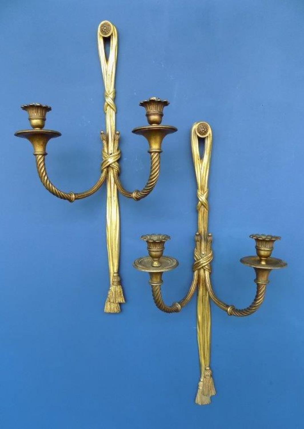 French Neoclassical sconces
