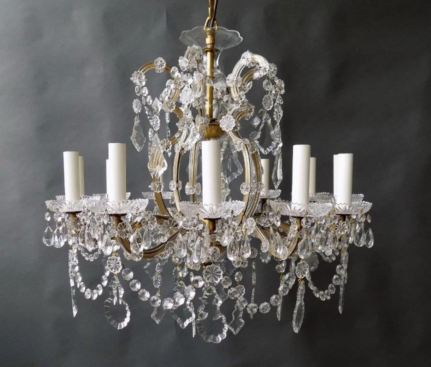 Crystal Maria-Theresa Style Chandelier