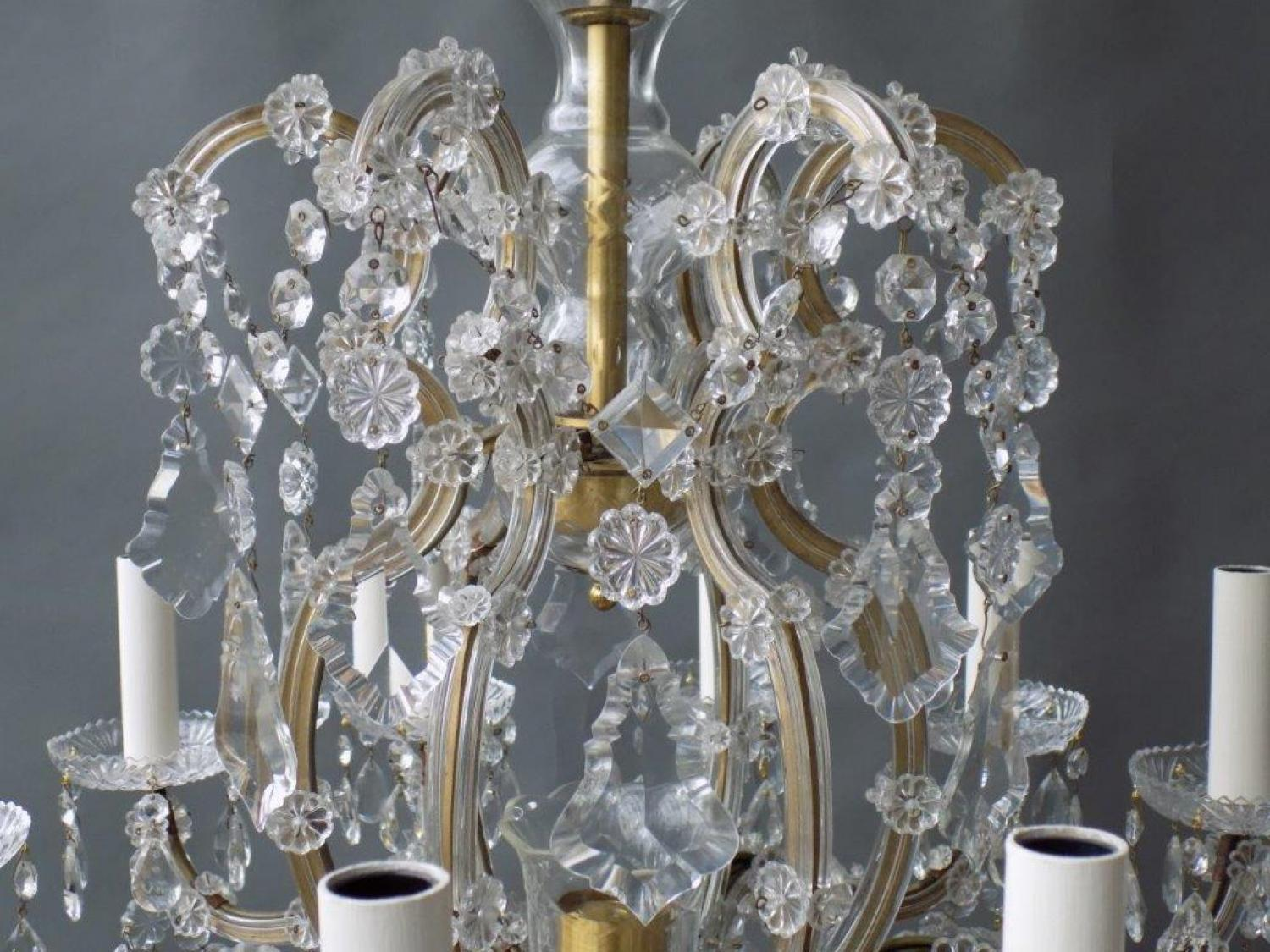 Crystal maria theresa style chandelier in chandeliers crystal maria theresa style chandelier picture 2 arubaitofo Gallery