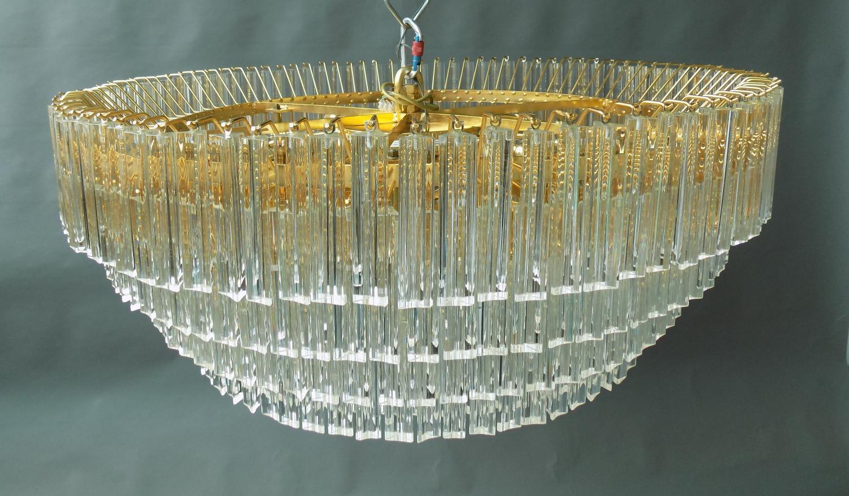Murano Glass chandelier attributed to Venini