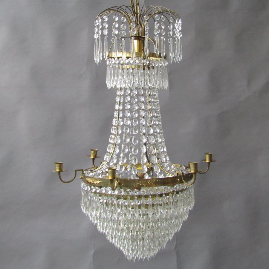 Gustavian Style Chandelier